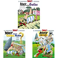 Asterix And The Goths: Album 3+Asterix And The Golden Sickle: Album 2+Asterix The Gaul: Album 1 (Set Of 3 Books)