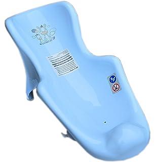 Baby Infant Newborn Toddler Bath Tub Safety Newborn Seat Support Chair with Anti-Slip Suction Cups Beige Zebra with Anti-Slip Mat 0-6 Months