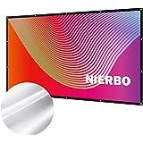 """Écran de Projection, NIERBO Ecran Projecteur Anti-Pliage 120"""" 16:9 Portable Extérieur Écran pour Vidéoprojecteurs 290x163cm"""