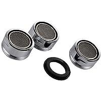 VABNEER 3 pièces Filtre à robinet d'économie d'eau accessoires robinet Diffuseur Filtre de Robinet avec joint d…