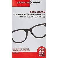 PHARMALENS Easy Clean Lunettes Lingettes Nettoyantes 20 Pièces pour Lunettes PC Tablet GSM