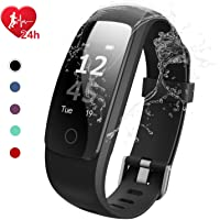 EFOSHM Fitness Tracker; Smart Watch Wasserdicht IP67 Touch Bildschirm Activity Tracker mit Herzfrequenz Monitor Kalorien Zähler Schrittzähler Smart Armband Android & iOS Smartphone