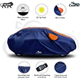 VIRMANG Hard Triple Stitched Fully Elastic Ultra Surface Body Protection with Water Resistant Car Cover for Audi A4…