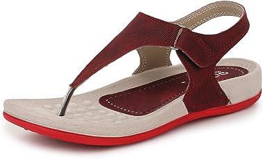 TRASE Qure Women's Dailywear Footwear/Sandal (Ultra Light Eva Sole)