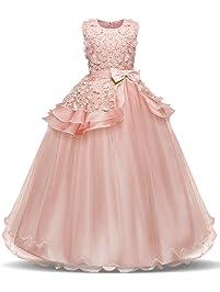 NNJXD Vestido de Princesa del Desfile ...