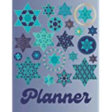 Magen David Planner: Organize Your Life with This Undated Yearly, Monthly, and Weekly Agenda Calendar for Jewish…