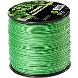 Zeck Schnur Hulk Line 0,55mm 50kg 400m, geflochtene Schnur zum Welsangeln, Welsschnur, Wallerschnur, grüne Angelschnur