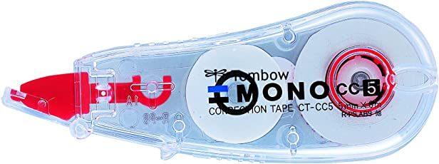 TOMBOW MONO correction tape 5 mm x 6m - Pack of 3- MONO