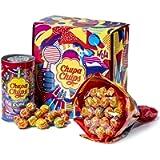 Chupa Chups Gift Box, Confezione Regalo con Flower Bouquet Chupa Chups da 19 Lollipop e Mini Latta Salvadanaio da 16…