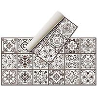 Tapis en vinyle - (hydraulique) - Différentes couleurs et tailles - Tapis de cuisine - Tapis de salle de bain - Tapis de…