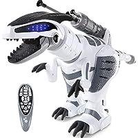 ANTAPRCIS RC Robot de Dinosaure Télécommandé - Intelligent Programmable Robot, Jouet Cadeau pour Enfant, Garçon et Fille