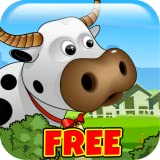 Farm Fun Frenzy FREE - Help The Cow Hide From The Evil Cloud!