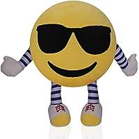 Frantic Premium Cool Dude Soft Smiley Cushion - 35 cm (H&L)