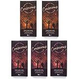 Conscious Chocolate - Dark Side Bundle - 5x60g Dark Chocolate Peruvian Cacao Bars - Handmade, Vegan & Organic