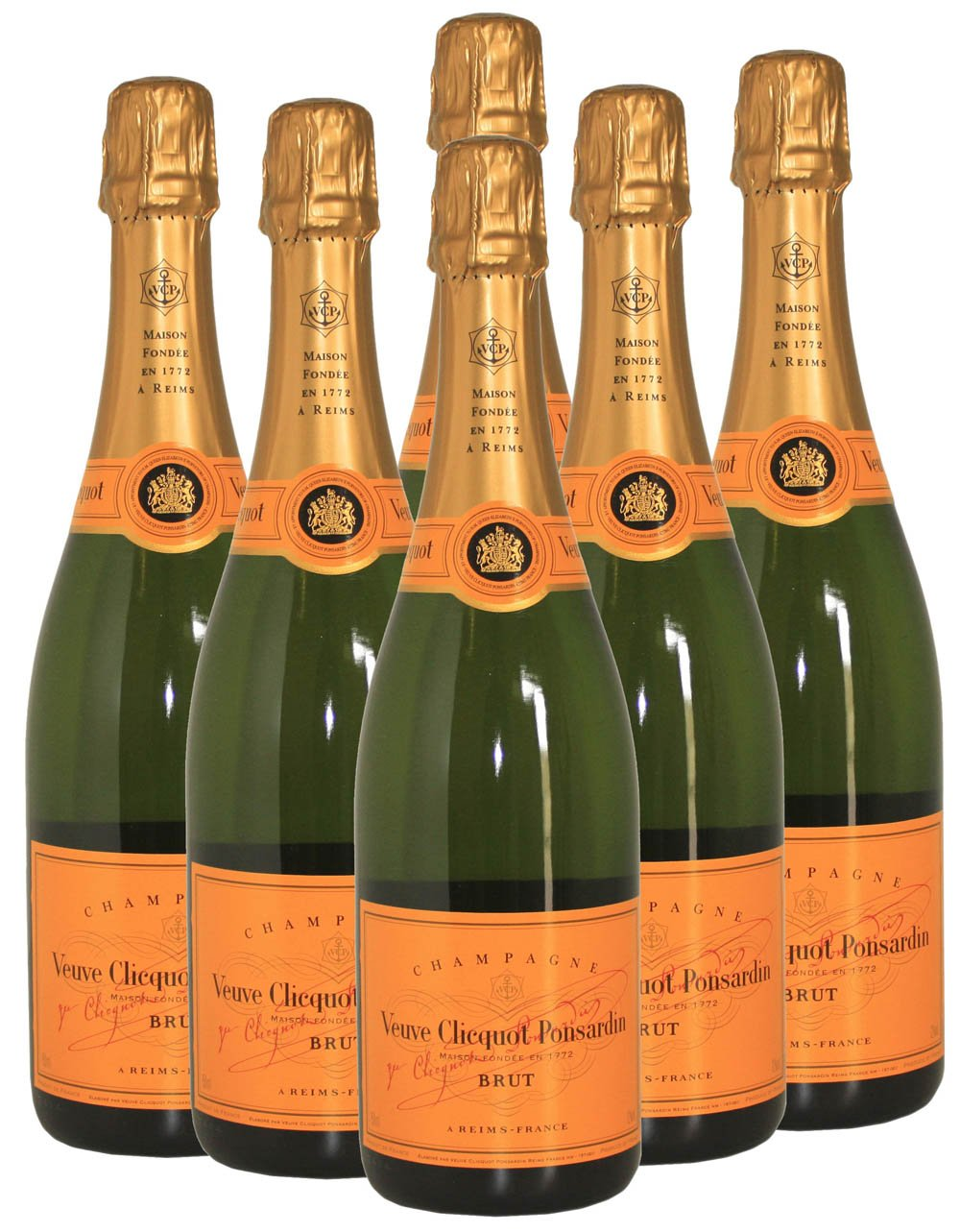Veuve-Clicquot-Yellow-Label-Champagne-Reims-NV-75-cl-Case-of-6