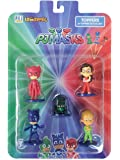 Pj Masks Pencil Toppers Blister 5 (S1) - Owlette, Catboy, Romeo's Lab, Amaya, Greg, for Kids 3+ & Above