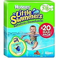 Huggies 2900251 Little Swimmers - 20 pannolini Maxi Pack taglia 3/4 7-15 kg