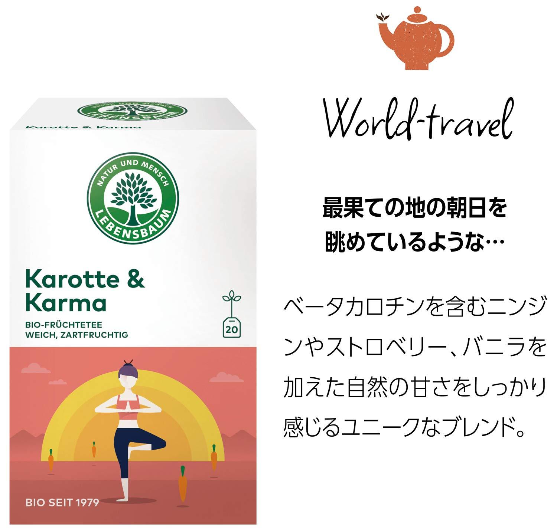 Lebensbaum-Bio-Frchtetee-Karotte-und-Karma-3er-Pack-3-x-40-g