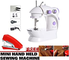 Mini Sewing Machines Mini Portable Smart Electric Tailor Stitch Hand-Held Sewing Machine