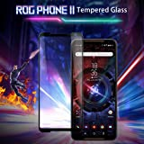 Helix 21D 9H Hardness 2.5D Round Edge Tempered Glass Screen Protector for Asus ROG Phone 2 / Asus ROG Phone 2 / Asus ROG Phone II - Black