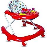 GoodLuck Baybee Galaxy Round Kids Walker for Baby with 3 Position Height Adjustable Baby Walker Indoor/Outdoor Fun Toys…