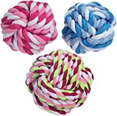 Pets Empire Puppy Dog Pet Rope Chew Toys 1 Piece Color May Vary Size Small For Small Puppies