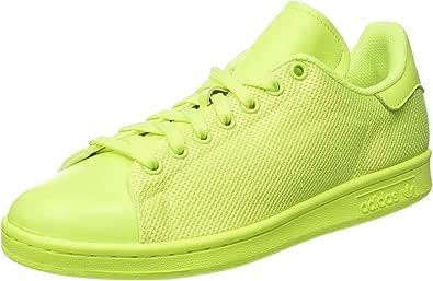adidas Stan Smith, Scarpe da Ginnastica Unisex – Adulto, Giallo (Solar Yellow/Solar Yellow/Solar Yellow), 38 2/3 EU