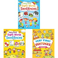 Very First Sight Words Sentences Level - 2 + Very First Sight Words Sentences Level - 1 + Very First Sentences Book (Set…