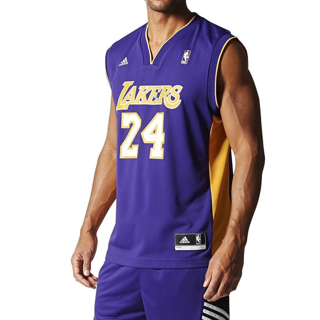 Adidas Int Replica Jrsy #2 Canotta da Basket Nba Los Angeles Lakers 1 - 303 - Multicolore (NBA Los A