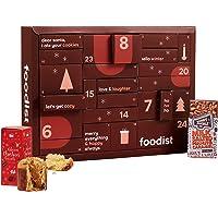 Foodist Gourmet Adventskalender 2021 mit 24 internationale Snacks wie Chips, div. Schokolade, Gebäck, salzigem Nuss-Mix…