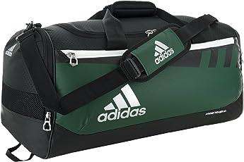 adidas Team Issue Duffel Bag, Collegiate Green, Small