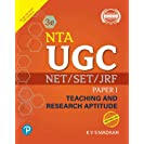 NTA UGC NET/SET/JRF - Paper 1: Teaching and Research...
