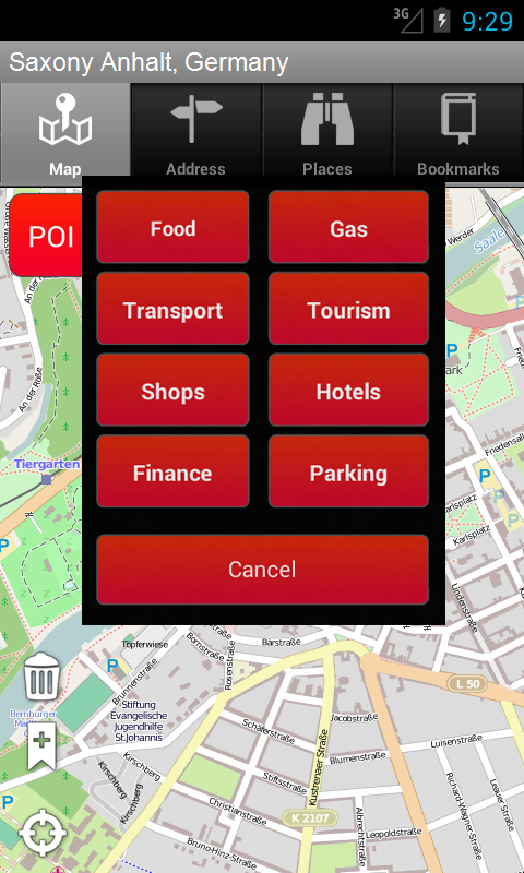 saxe anhalt allemagne onboard carte mobile gps apps appstore pour android. Black Bedroom Furniture Sets. Home Design Ideas