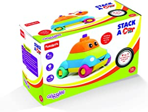 Giggles Stack a Car, Multi Color