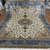 Emperador alfombra 9x 12ft (274cm X 366cm) hecho a mano persa alfombra de...