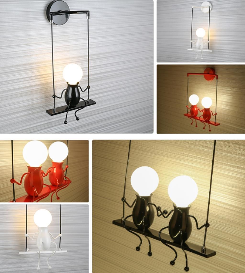 lampe murale moderne mode applique murale cr atif simplicit design appliques pour chambre d. Black Bedroom Furniture Sets. Home Design Ideas