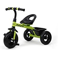 Little Pumpkin Classic T10 Baby Tricycle Smart Plug and Play Tricycle for Kids Boys Girls of 1.5 Years to 5 Years(Green)