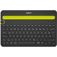 Logitech K480 Kabellose Bluetooth-Tastatur für Computer, Tablet und Smartphone, Multi-Device & Easy-Switch Feature…
