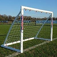 Samba Fußballtor 2,4 x 1,8m / 2,4 x 1,2m / 1,8 x 1,2m · Wetterfestes Fussballtor für Kinder · neuartiges Einrastsystem…