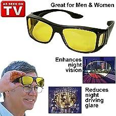 Diswa Hd Vision Anti Glare Sunglasses Wrap Around Day & Night Driving