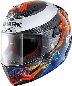 Shark Herren Nc Motorrad Helm Schwarz Rot Blau Xl Auto