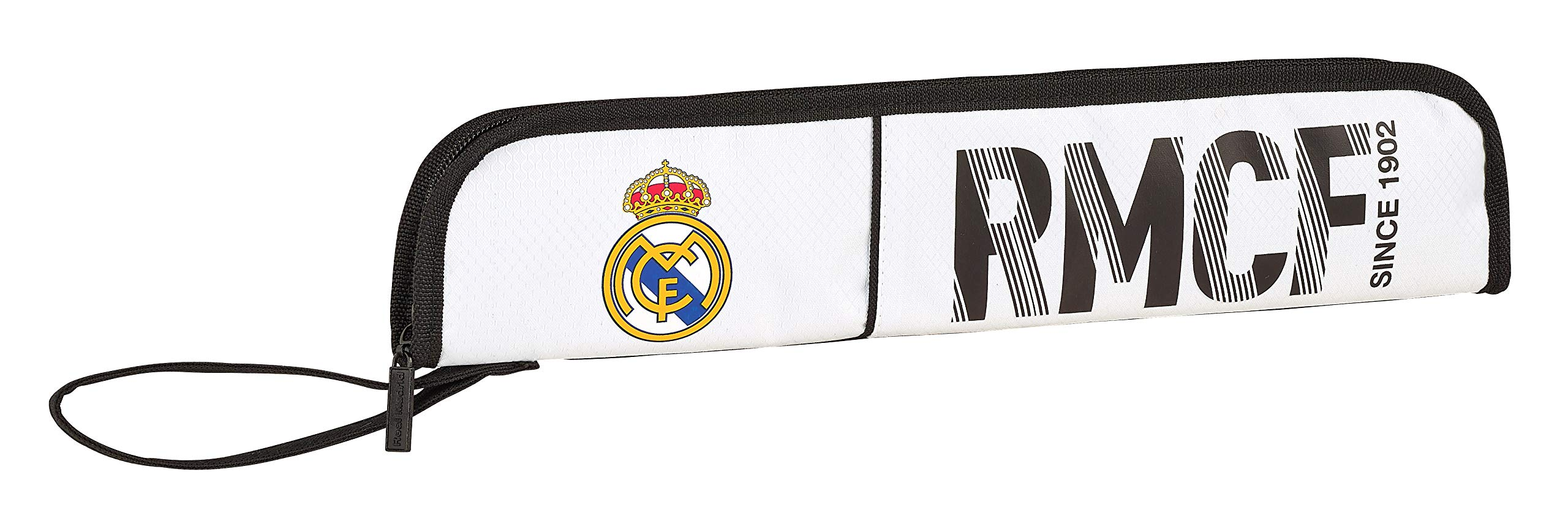 Real Madrid 811854284 2018 Portaflauta, 37 cm, Blanco