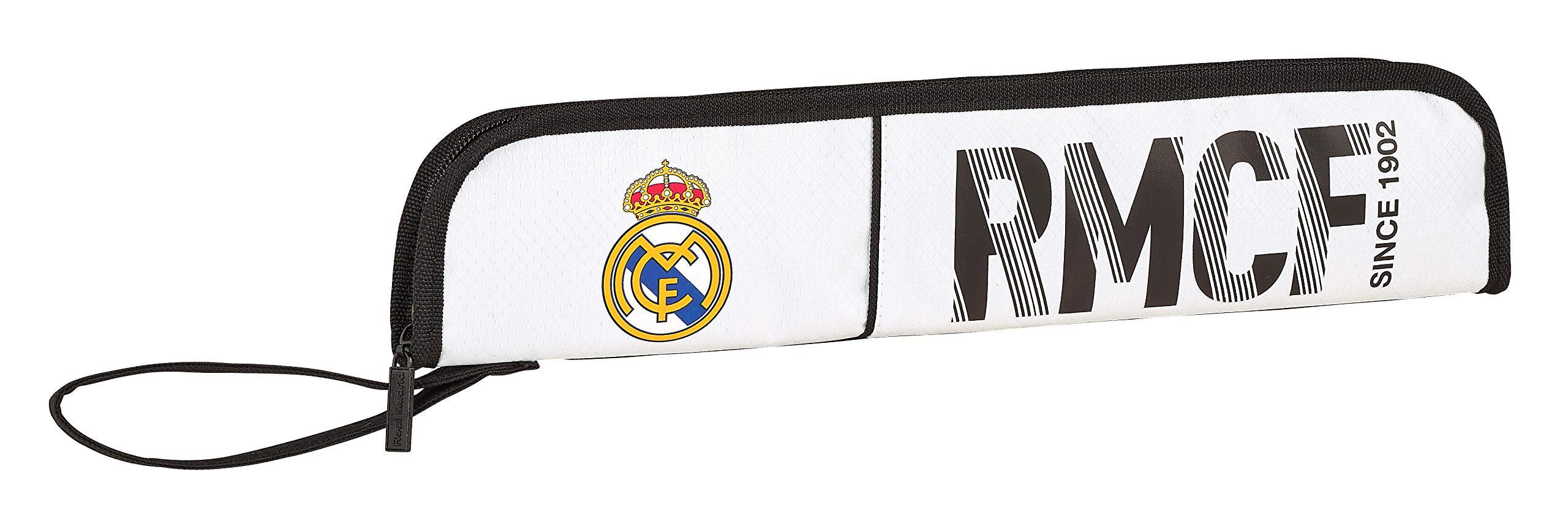 Real Madrid 811854284 2018 Neceser, 37 cm, Blanco