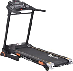 Powermax Fitness TDM-105S 2.0 HP Semi-Auto Lubrication Motorized Treadmill