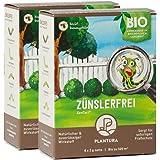 Plantura Xentari Raupenfrei & Zünslerfrei 2er Set gegen Buchsbaumzünsler & Schadraupen, extrem wirksames & biologisches Spritzmittel, Nicht bienengefährlich