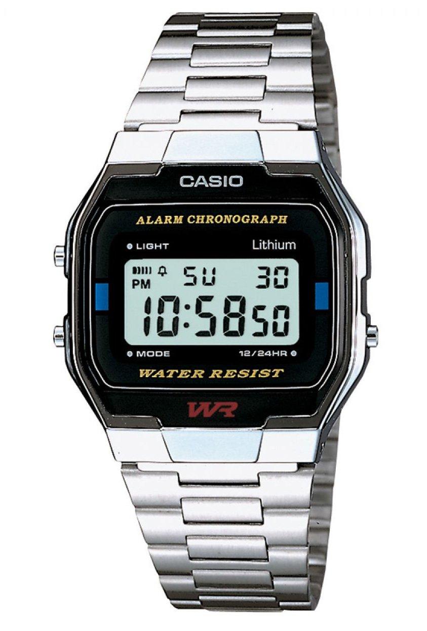 Casio Retro horloge A163WA-1QES