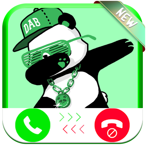 Instant Real Video Live Call From Dabbing Panda Funny - Free Fake Phone Call ID PRO 2018 - PRANK FOR KIDS! (Video Android Instant Für Amazon)