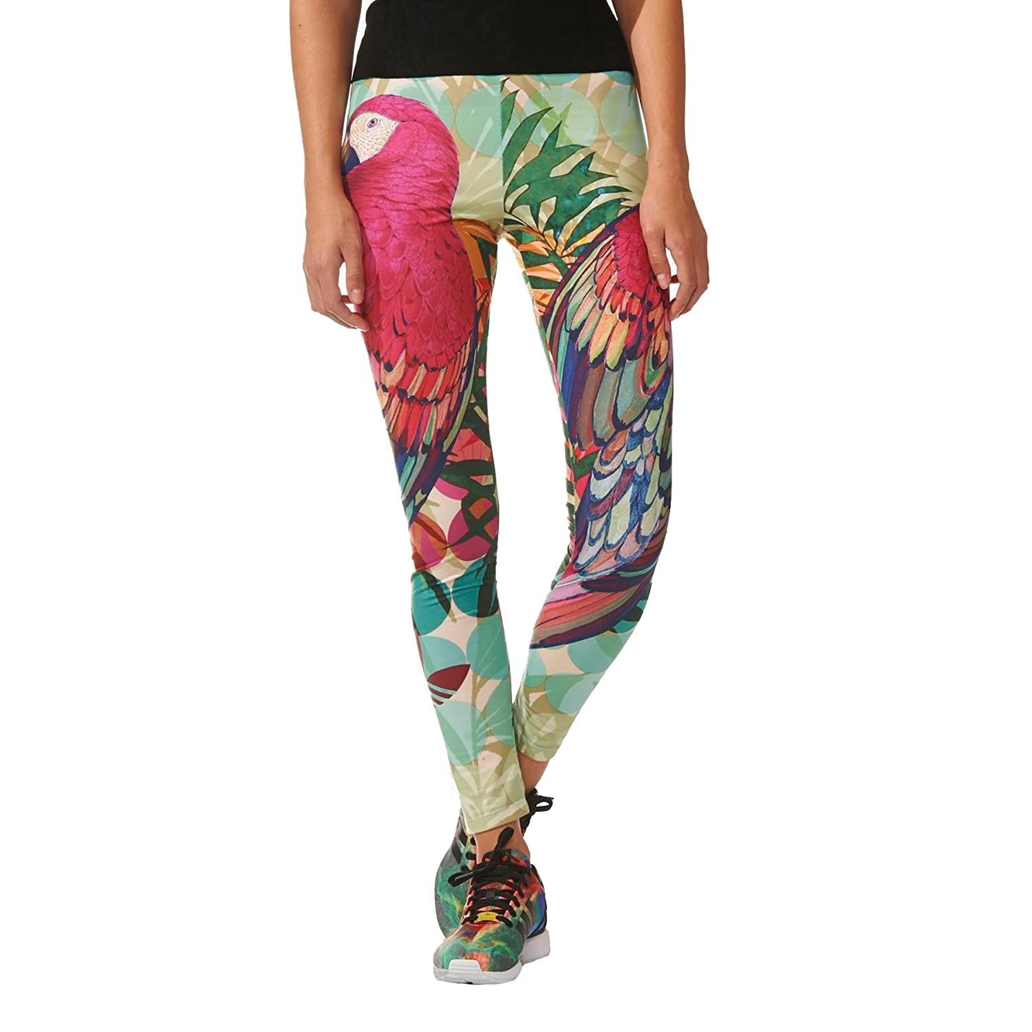 adidas leggings. adidas originals women\u0027s farm arari bright coloured graphic leggings - 4uk: amazon.co.uk: sports \u0026 outdoors