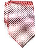 Cravate Texturé À carreaux Tissée en Microfibres de Retreez