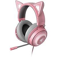 Razer Kraken Kitty Cuffie con Orecchie da Gatto e Illuminazione RGB Chroma Personalizzabile, Microfono con Cancellazione…
